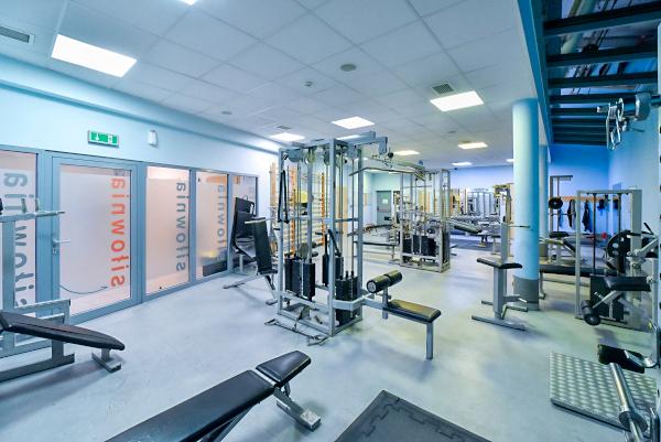 Strefa fitness i siłownia