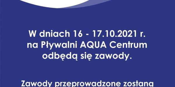 Zawody w dniach 16 i 17 października 2021